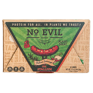 The Stallion Artisan Italian Sausage by No Evil Foods MAIN
