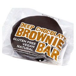 Deep Chocolate Brownie Bar by No Whey! Foods THUMBNAIL