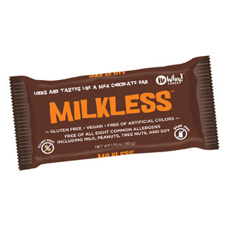 Milkless Chocolate Bar by No Whey Foods MAIN
