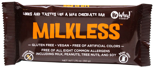 Milkless Vegan Chocolate Bar by No Whey Foods