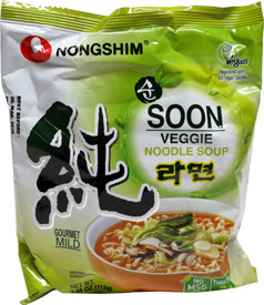 Soon Veggie Noodle Soup Packet by Nongshim