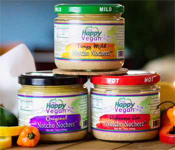 Notcho Nocheez Dips by The Happy Vegan