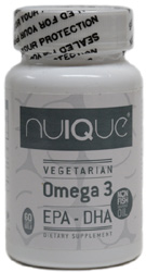 Nuique Vegan Omega-3 EPA-DHA Supplement