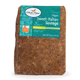 Nutcase Vegan Meats Sweet Italian Ground Sausage MAIN