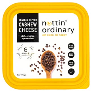 Nuttin Ordinary Cashew Cheese Spread - Cracked Pepper MAIN