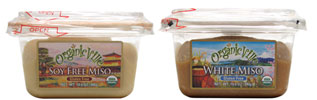 Organic Miso Pastes by Organicville Foods