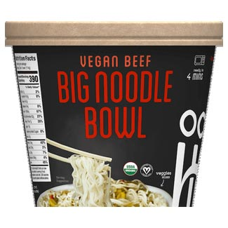 Ocean's Halo Big Bowl of Noodles - Vegan Beef MAIN