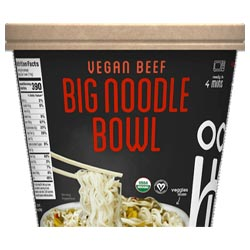 Ocean's Halo Big Bowl of Noodles - Vegan Beef THUMBNAIL