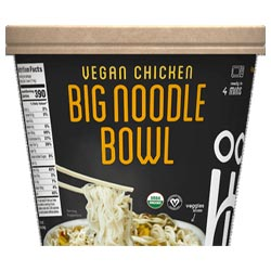 Ocean's Halo Big Bowl of Noodles - Vegan Chicken THUMBNAIL