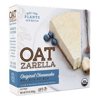 Oatzarella Organic Oat Milk Cheesecake - Original MAIN
