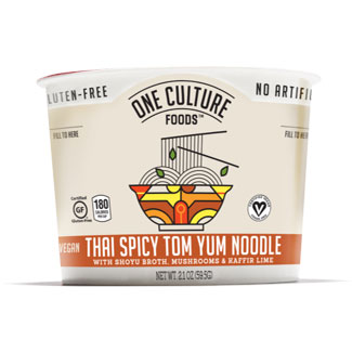 Thai Spicy Tom Yum Noodle Bowl by One Culture Foods MAIN