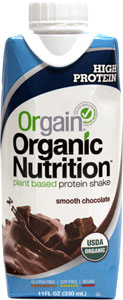 Orgain Organic Nutrion Plant-Based Protein Shakes