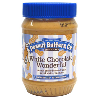 White Chocolate Wonderful Peanut Butter by Peanut Butter & Co. LARGE