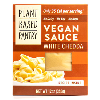 Plant Based Pantry White Chedda Sauce MAIN