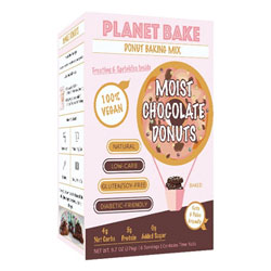 Planet Bake Moist Chocolate Donut Mix THUMBNAIL