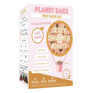 Planet Bake Crispy Cinnamon Donut Mix MAIN