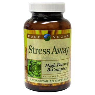 Stress Away High Potency B-Complex by Pure Vegan MAIN