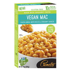 Family Size Pamela's Gluten-Free Vegan Mac & Cheese THUMBNAIL