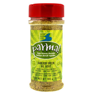 Garlicky Green Parma Vegan Parmesan Alternative - 3.5 oz. bottle MAIN