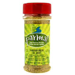 Garlicky Green Parma Vegan Parmesan Alternative - 3.5 oz. bottle THUMBNAIL