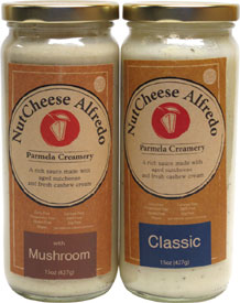 Vegan NutCheese Alfredo Sauces by Parmela Creamery