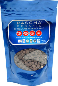 Pascha Organic Ricemilk Chocolate Baking Chips