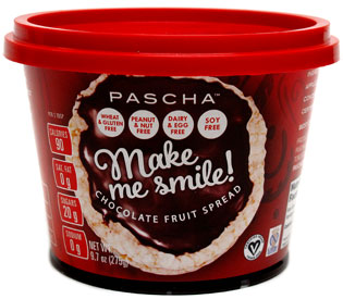 Pascha Make Me Smile! Chocolate Fruit Spread