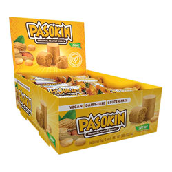 Pasokin Natural Peanut Butter Snacks THUMBNAIL