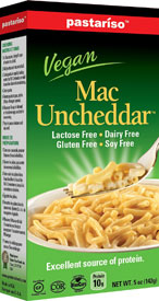 Vegan Mac Uncheddar Gluten-Free Macaroni and Cheese by Pastariso