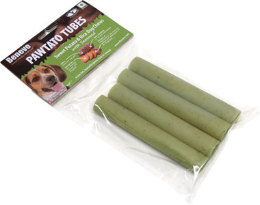 Pawtato Tubes Dog Chew Treats by Benevo