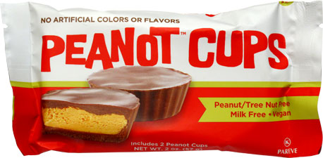PeaNot Butter Cups by Premium Chocolatiers