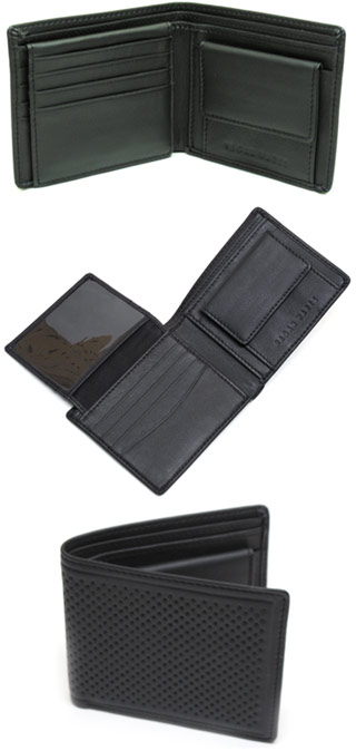 Textured Bi-Fold Wallet by Vegan Wares