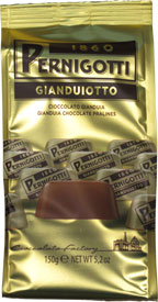 Gianduiotto Hazelnut Chocolate Pralines 5.2oz Bag by Pernigotti