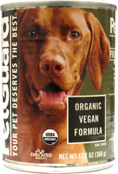Organic Vegan Dog Food Cans by PetGuard