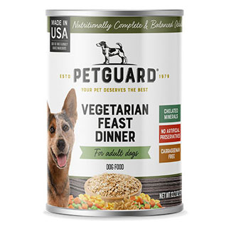 Vegetarian Feast Dinner Canned Dog Food by PetGuard MAIN