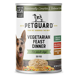 Vegetarian Feast Dinner Canned Dog Food by PetGuard THUMBNAIL