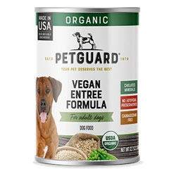 Organic Vegan Entree Dog Food Cans by PetGuard THUMBNAIL
