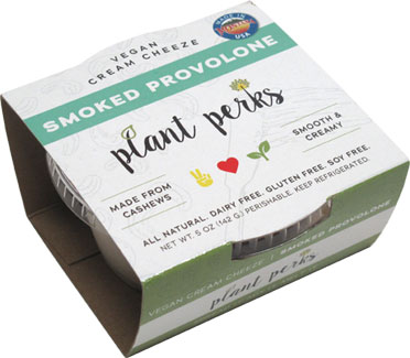Smoked Provolone Vegan Creamy Cheeze by Plant Perks_LARGE