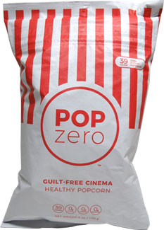 Pop Zero Guilt-Free Cinema Popcorn LARGE