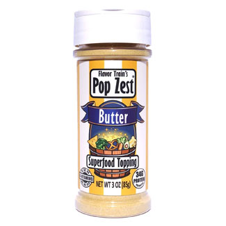 Pop Zest Nutritional Yeast Seasoning - Butter Flavor MAIN