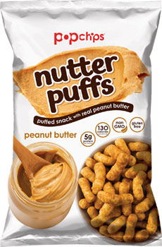 Peanut Butter Nutter Puffs by PopChips