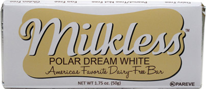 Milkless Polar Dream White Bar by Premium Chocolatiers