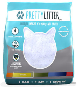 Pretty Litter Health-Monitoring Cat Litter