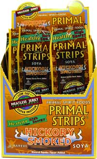 Primal Strips Vegan Jerky - 1 oz Strip