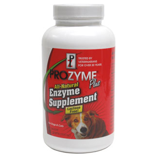 Prozyme Vegan Enzyme Supplement for Cats and Dogs - 10.5 oz. bottle MAIN