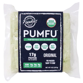 Pumfu Pumpkin Seed Tofu by Foodies Vegan MAIN