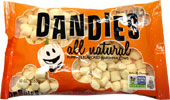 Pumpkin Dandies Minis Non-GMO Air-Puffed Vegan Marshmallows by Chicago Vegan Foods