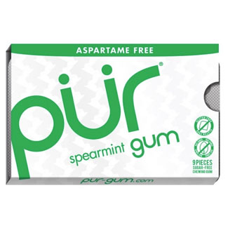 PUR Chewing Gum Pack - Spearmint MAIN