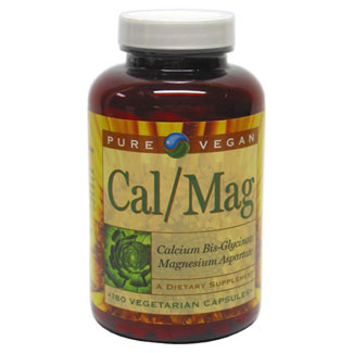 Calcium/Magnesium Supplement by Pure Vegan MAIN