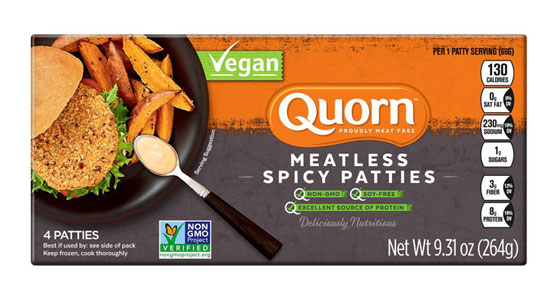 Quorn Meatless Spicy Chik'n Patties_LARGE